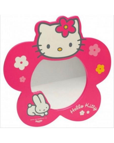 """Ξύλινος Καθρέφτης """"Hello Kitty"""""""
