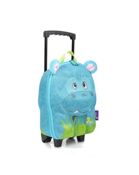 Τσάντα Trolley - Ιπποπόταμος
