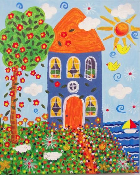 Πινακάκι - Σπίτι στη Θάλασσα 2