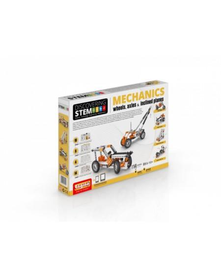 Engino STEM Mechanics - Τροχοί και Άξονες