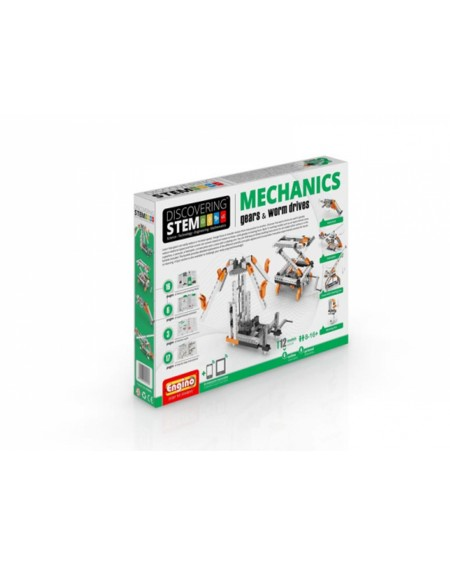 Engino STEM Mechanics - Γρανάζια και Κοχλίες