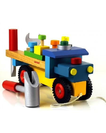 Ξύλινο Φορτηγό Κατασκευή