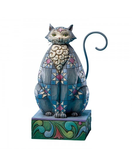 Jim Shore - Blue Cat