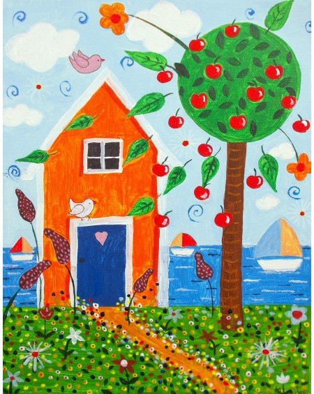 Painting - House by the Sea 1
