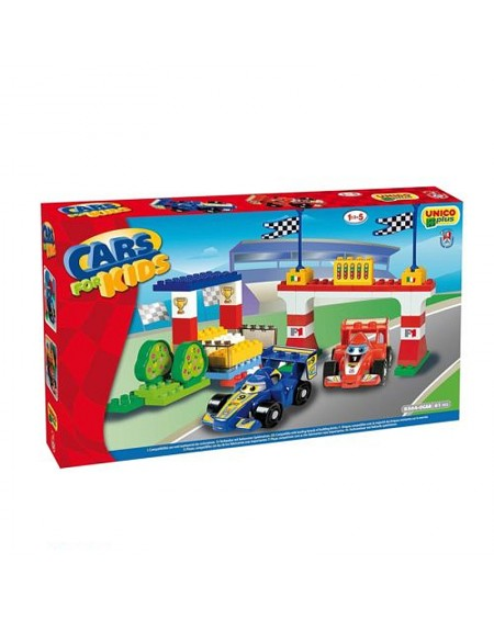 F1 Ρacetrack Cars for Kids