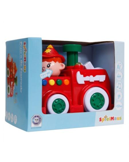 Press & Go Fire Truck