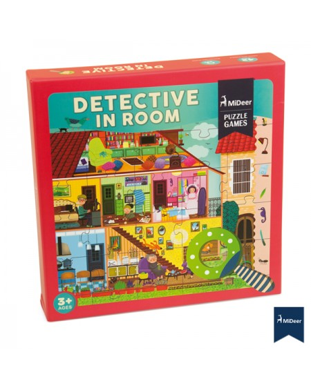 Dedective Puzzle In Room