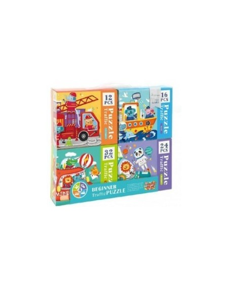 4 in 1 Puzzle Traffic