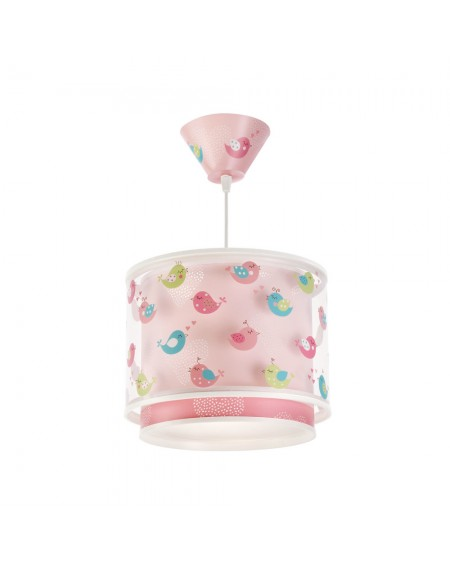 Birds Lampshade Ceiling Light