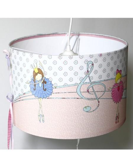 Drum Lampshade - Ballerinas