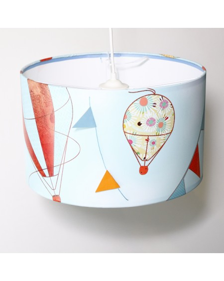 Drum Lampshade - Air Balloons 2