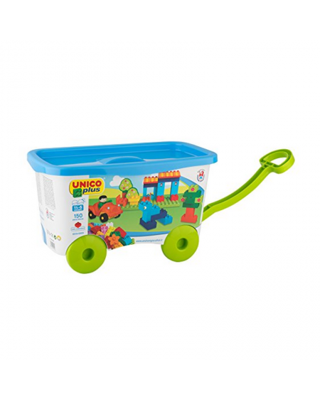 Cart With  Blocks UnicoPlus