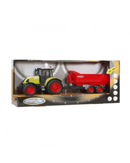 Tractor with Wagon