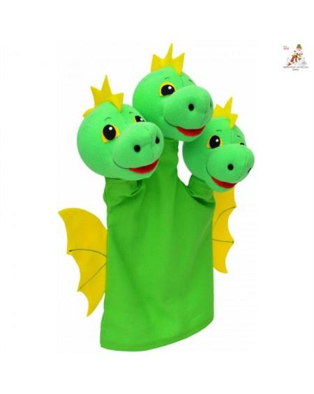 Hand Puppet- Three Headed Dragon