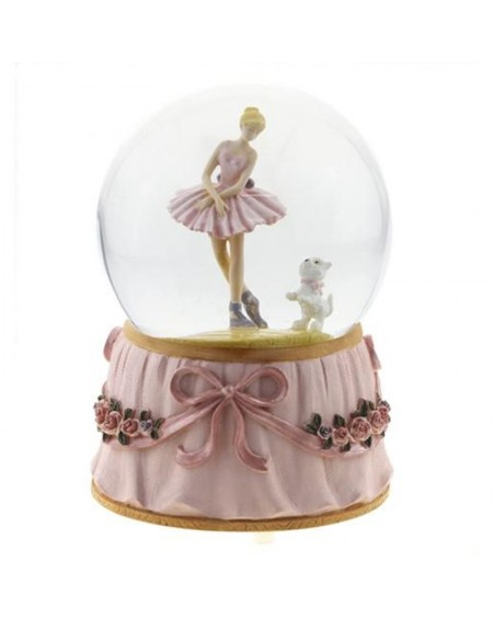 Snow Globe - Ballerina & Dog