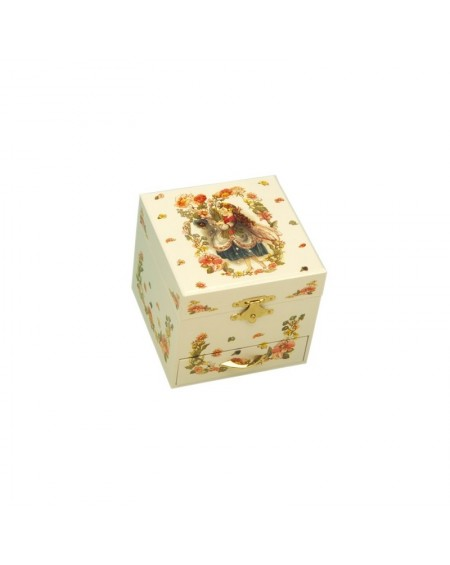 Jewelry Box with Fairies