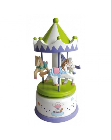 Wooden Musical Carousel