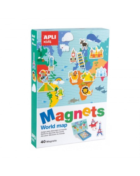 World Map Magnetic