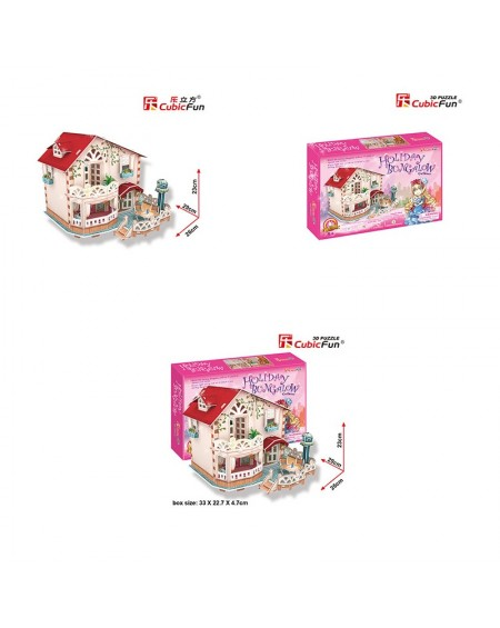 Holliday Bungalow Dollhouse
