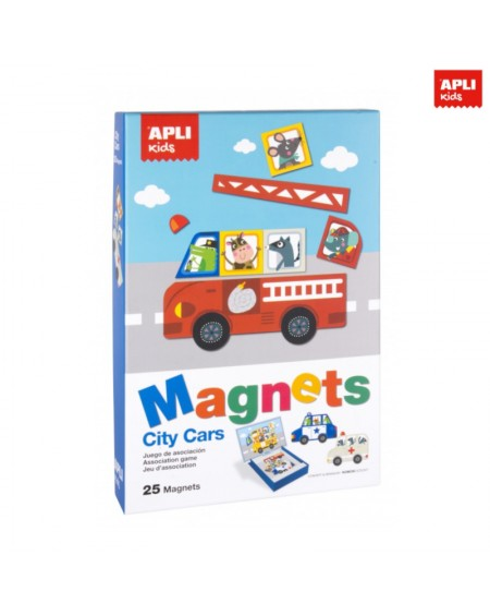 Magnets - City Cars