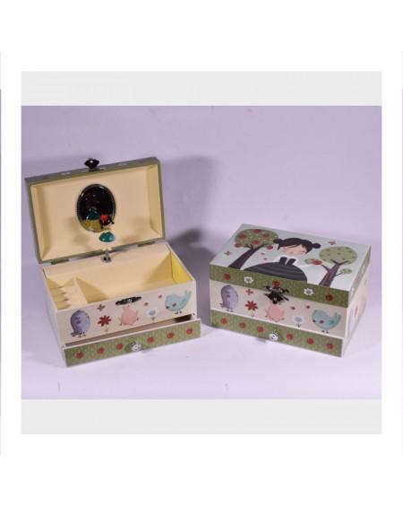 Musical Jewelry Box Girl