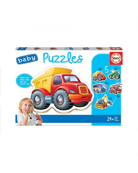 Baby Puzzles Vehicles