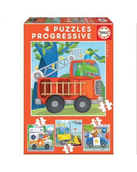 Progressive Puzzles Rescue Patrol