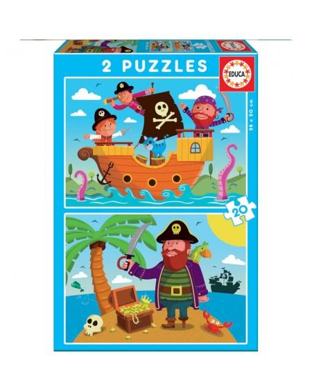 Puzzle 2X20 Pirates