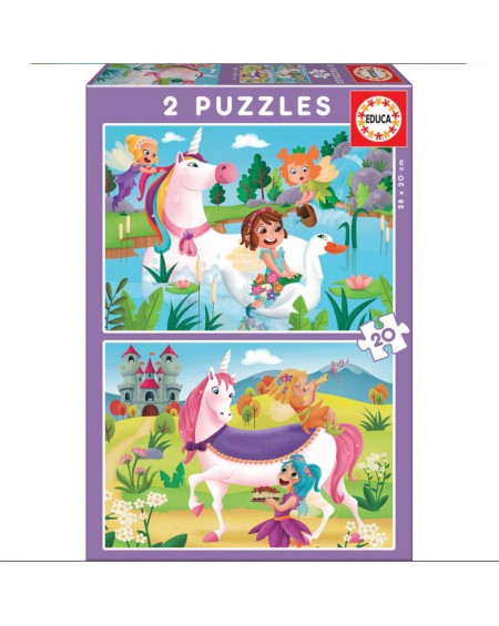 Puzzle 2X20 Unicorns and Fairies