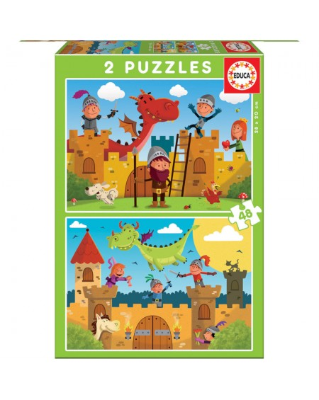 Puzzle 2X48 Knights and Dragons