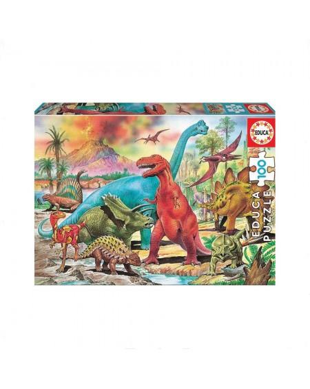 Puzzle 100 Dinosaurs