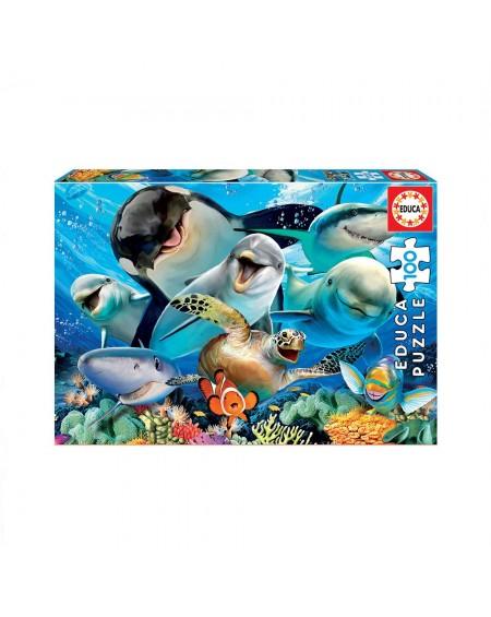 Puzzle 100 Underwater Selfie