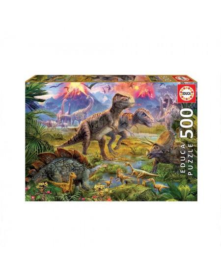 Puzzle 500 Dinosaurs