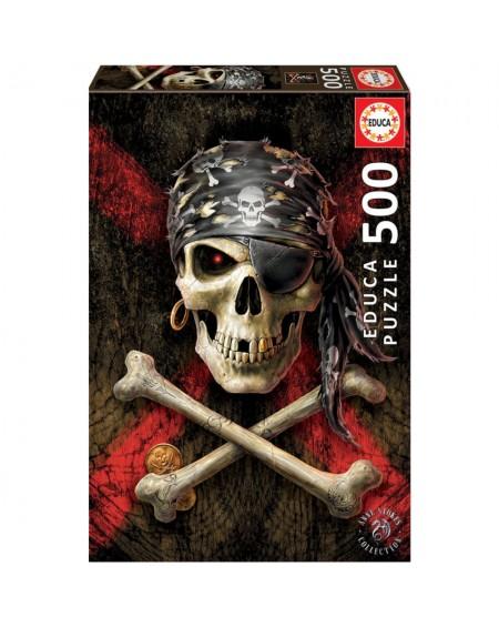 Puzzle 500 Pirate Skull