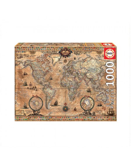 Puzzle 1000 Antique World Map