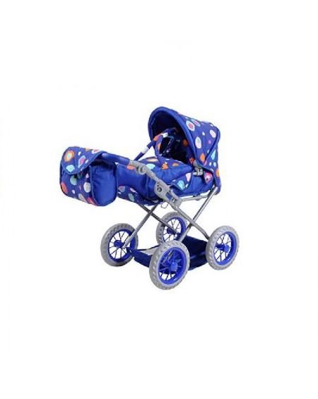 Doll Carriage RUBY BLUE SPLASH