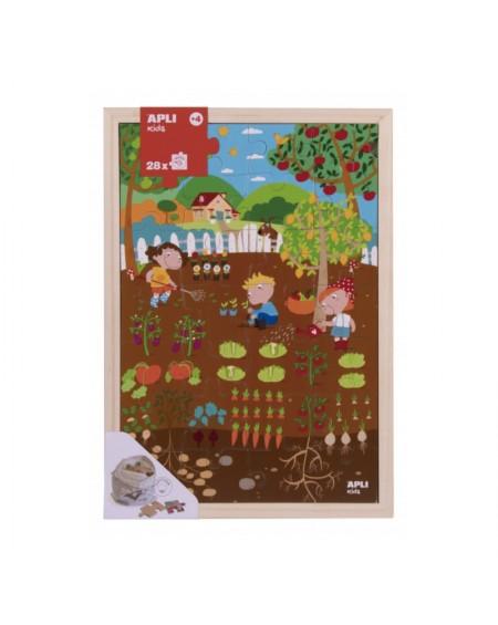 Wooden Puzzle 28 Garden