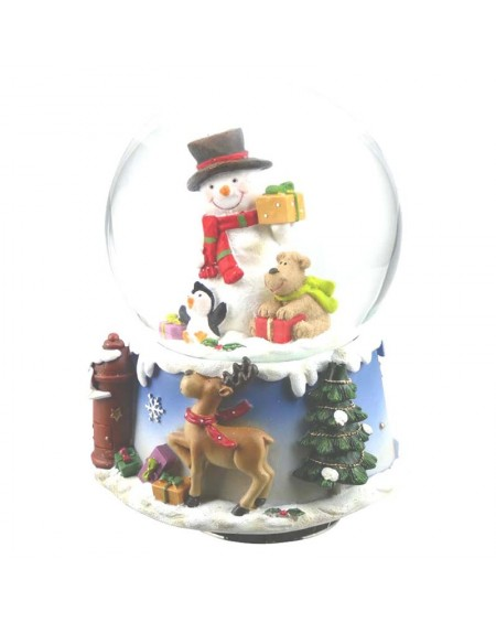 Snowglobe - Snowman and Dog