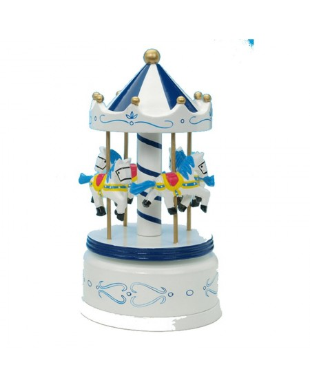 Wooden Carousel - White