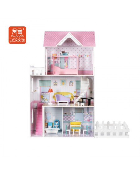 Dollhouse with Yard
