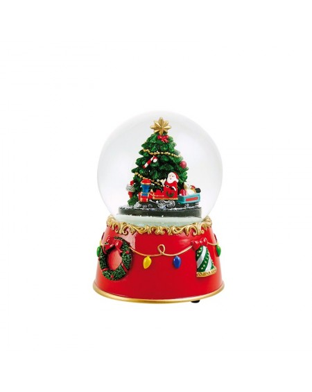 Snow Globe - Christmas tree and Train
