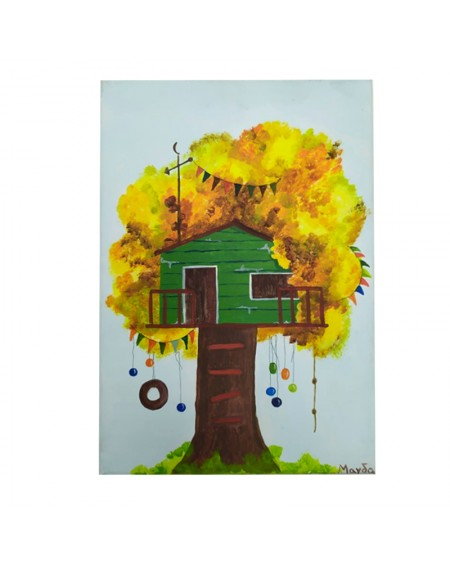 Painting - Treehouse 3