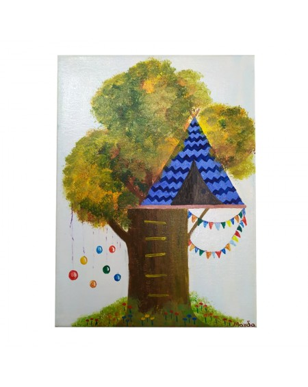 Painting - Treehouse 5