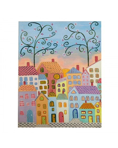 Painting - Neighborhood 1