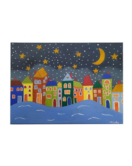 Painting - Neighborhood 3