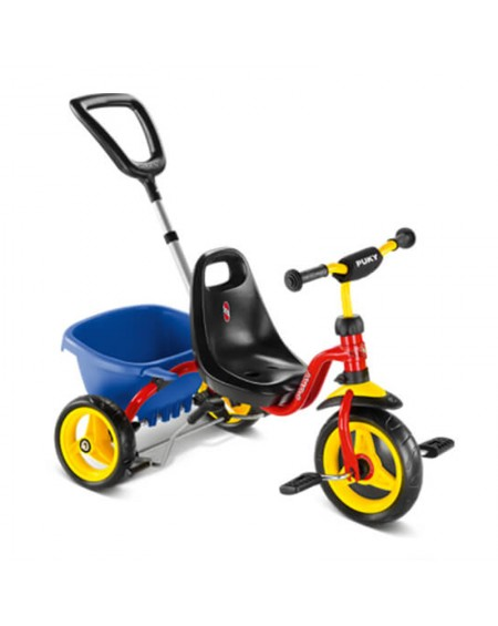 Puky Tricycle with Detachable Pole