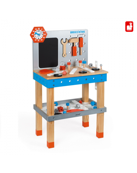 Wooden Magnetic Workbench Brico' Kids