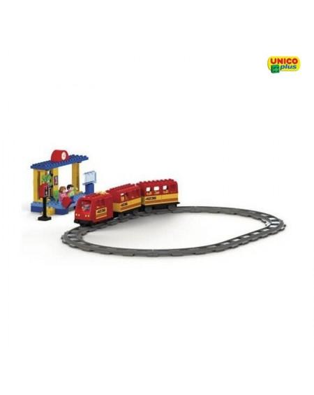 Modern Train  Set Construction UnicoPlus
