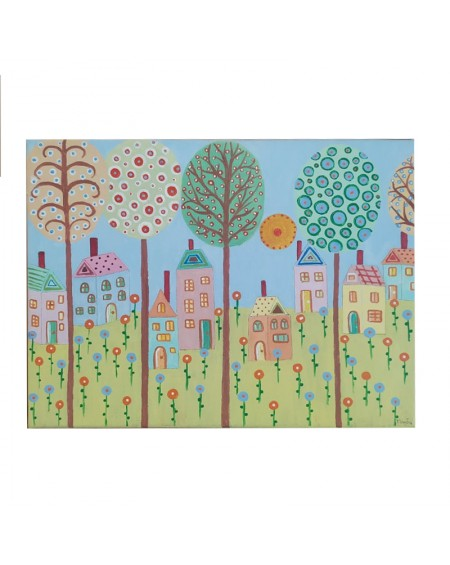 Painting - Countryside 1