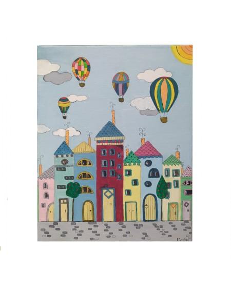 Painting - Hot Air-balloons